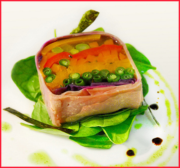 Seasonal Vegetables Terrine